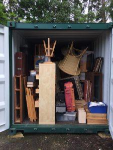 Self Storage Tunbridge Wells full container Store Anything